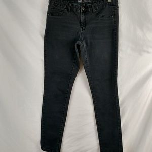 Mossimo denim leggings size 8 black